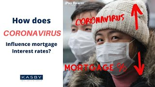 How does Coronavirus influence mortgage interest rates?