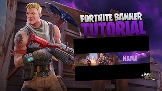 Create Fortnite Banner FREE - Gimp2.8 (Tutorial, English) | Tutorial by OmaDZN