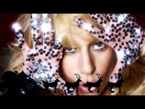 Lady Gaga Pokerface  Christmas Carols Medley