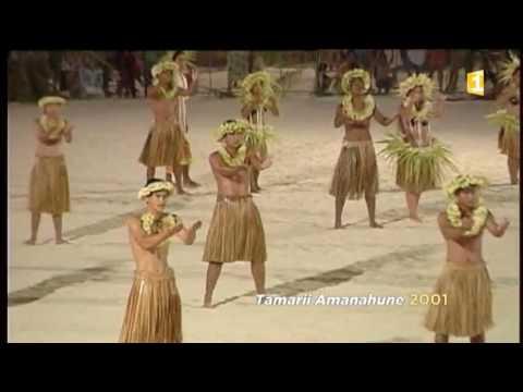La soirée du Heiva i Tahiti - Tamarii Amanahune - 2001