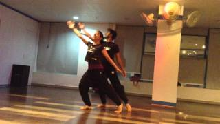 Lagg ja galey #sanampuri #Contemporary choreography #practiceSession #RSUDC #danceClasses #Nisarg