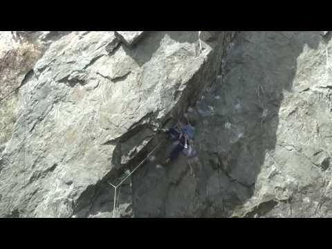 Climbing at Mickey