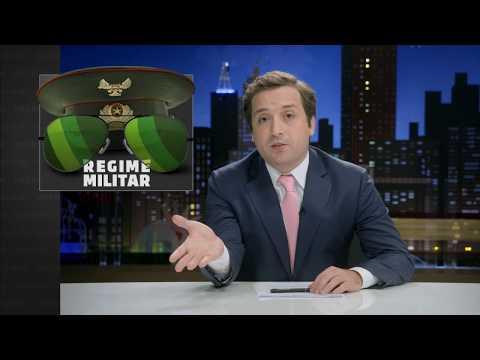 GREG NEWS com Gregório Duvivier   REGIME MILITAR