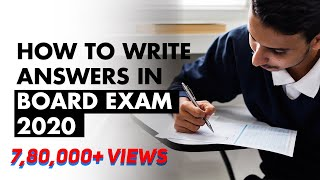 How to Write Answers in Board Exam 2020 | 5 Important Tips to Score 90% | Exam Tips | LetsTute