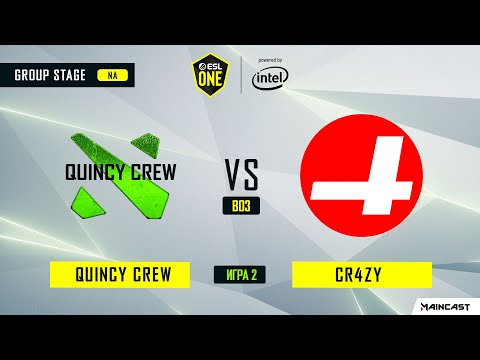 Quincy Crew vs CR4ZY vod