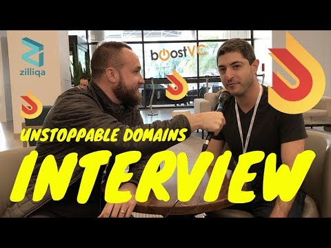 WHAT IS UNSTOPPABLE DOMAINS BACKED BY BOOSTVC? | CRYPTOCURRENCY INTERVIEW