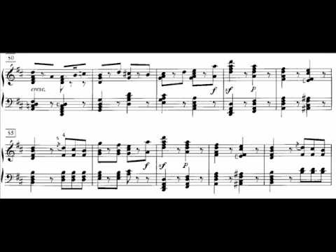 Hamelin plays Gounod - Funeral March of a Marionette Audio + Sheet music
