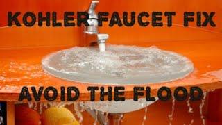 kohler bathroom faucet cartridge replacement