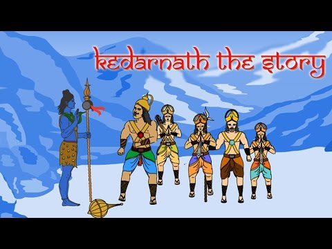 History of Kedarnath Dham | The Story | Lord Shiva and the Pandavas | Hindi | 2d Animation