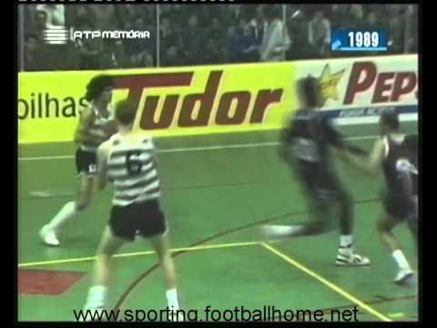 Basquetebol :: Sporting - 82 x Ovarense - 74 de 1989/1990