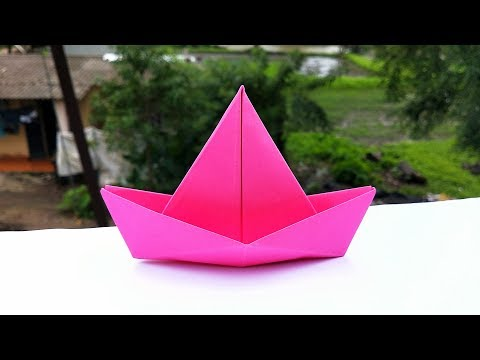 How to Make Origami Boat    Easy Paper Boat    DIY