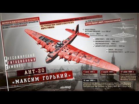"Техника в 3-D (АНТ 20 - ""Максим Горький""). 3D Model"