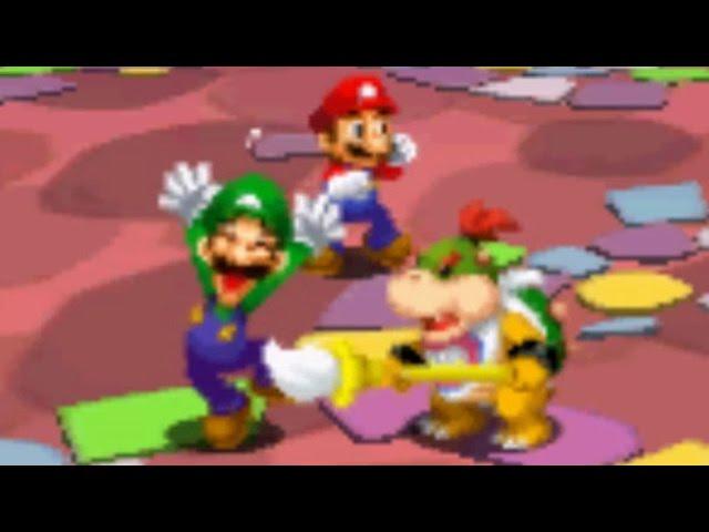 Mario Luigi Dream Team All X Bosses Battl With