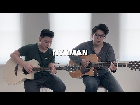 Nyaman - Andmesh ( WIlly Anggawinata Cover + Lirik )