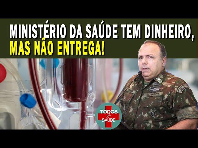 MINISTÉRIO DA SAÚDE TEM DINHEIRO, MAS NÃO ENTREGA!