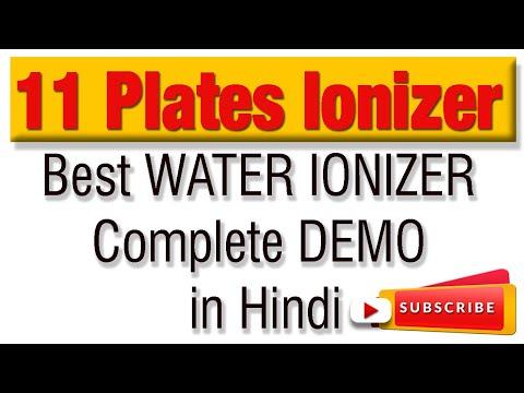 11 Plate Water Ionizer Free Demo Delhi NCR   Free Demo Water Ionizer   Water Ionizer Comparison
