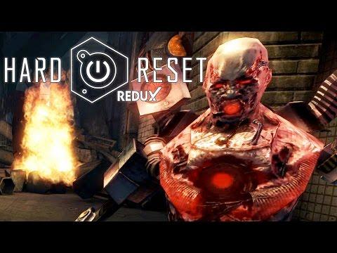 ZOMBIE CYBORGS | Let's Play Hard Reset Redux Part 1 | Hard Reset Redux Gameplay | Hard | 60fps