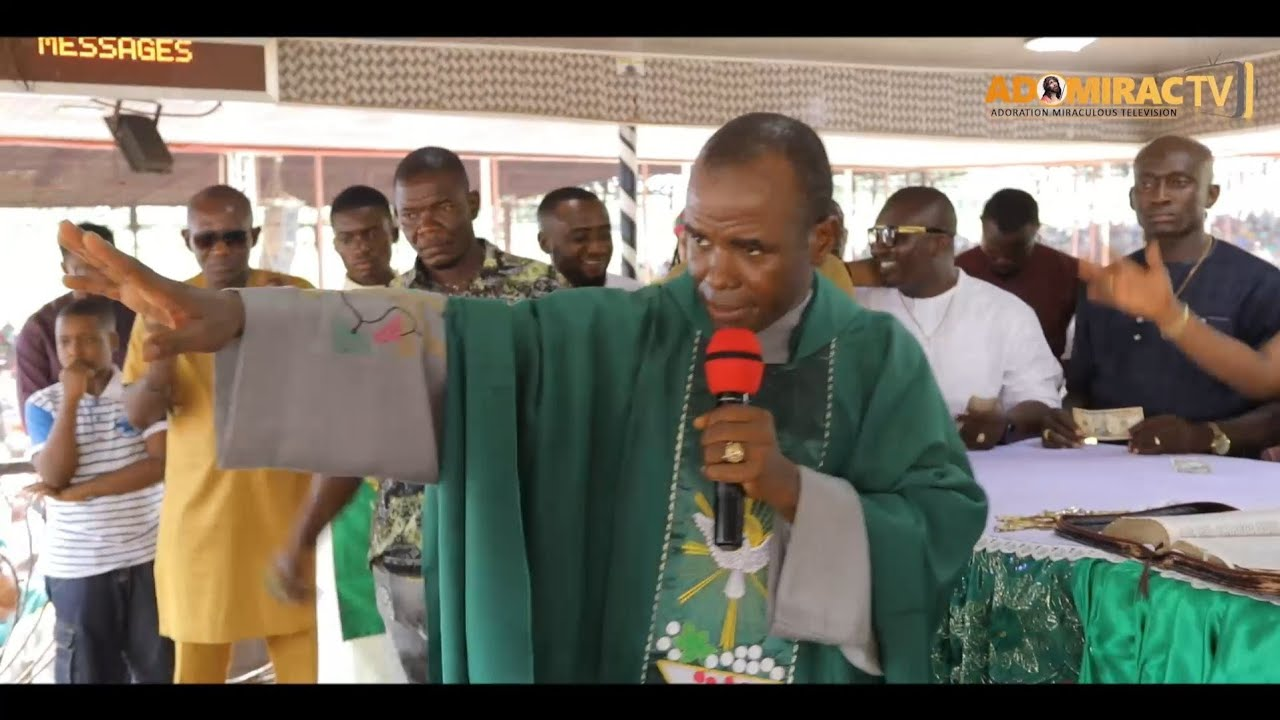 Download Rev Fr, Ejike Mbaka - God Will Crumble Every Mountain Of Wretchedness In Your Life In Jesus Name