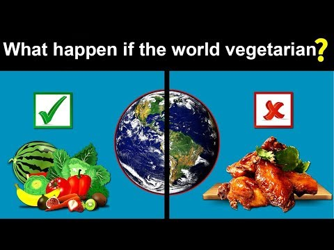 What would happen if the world suddenly went vegetarian?