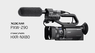 Sony PXW-Z90 4K HDR XDCAM Video Camcorder with Fast Hybrid AF - Z90