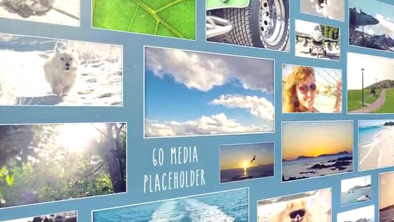 Photo wall sony vegas template youtube pronofoot35fo Images