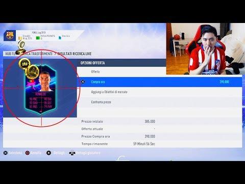 IL RITORNO DEL KING DELLO SNIPING - Sniping Fifa 19 Ultimate Team (100k ogni ora!!)