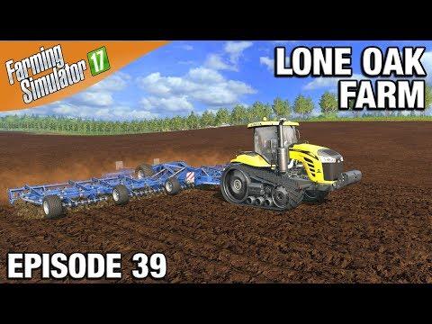Farming Simulator 17 Timelapse - Lone Oak Farm Episode 39 PLANTING THE CORN thumbnail