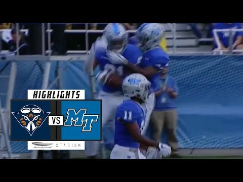 UT-Martin vs Middle Tennessee Football Highlights (2018) | Stadium