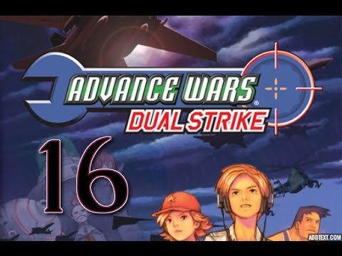 "Part 16: Let's Play Advance Wars Dual Strike, Hard Campaign - ""Crystal Calamity"""