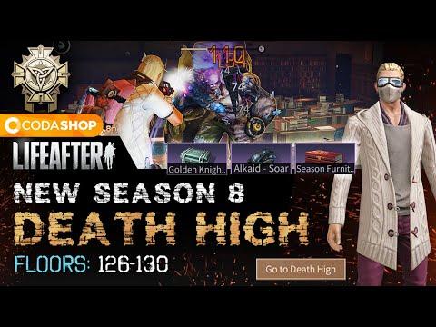 Death High Floors 126-130   LifeAfter Death High Season 8