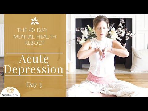 Healing Acute Depression Yoga for Mental Health Day 3 with Mariya Gancheva