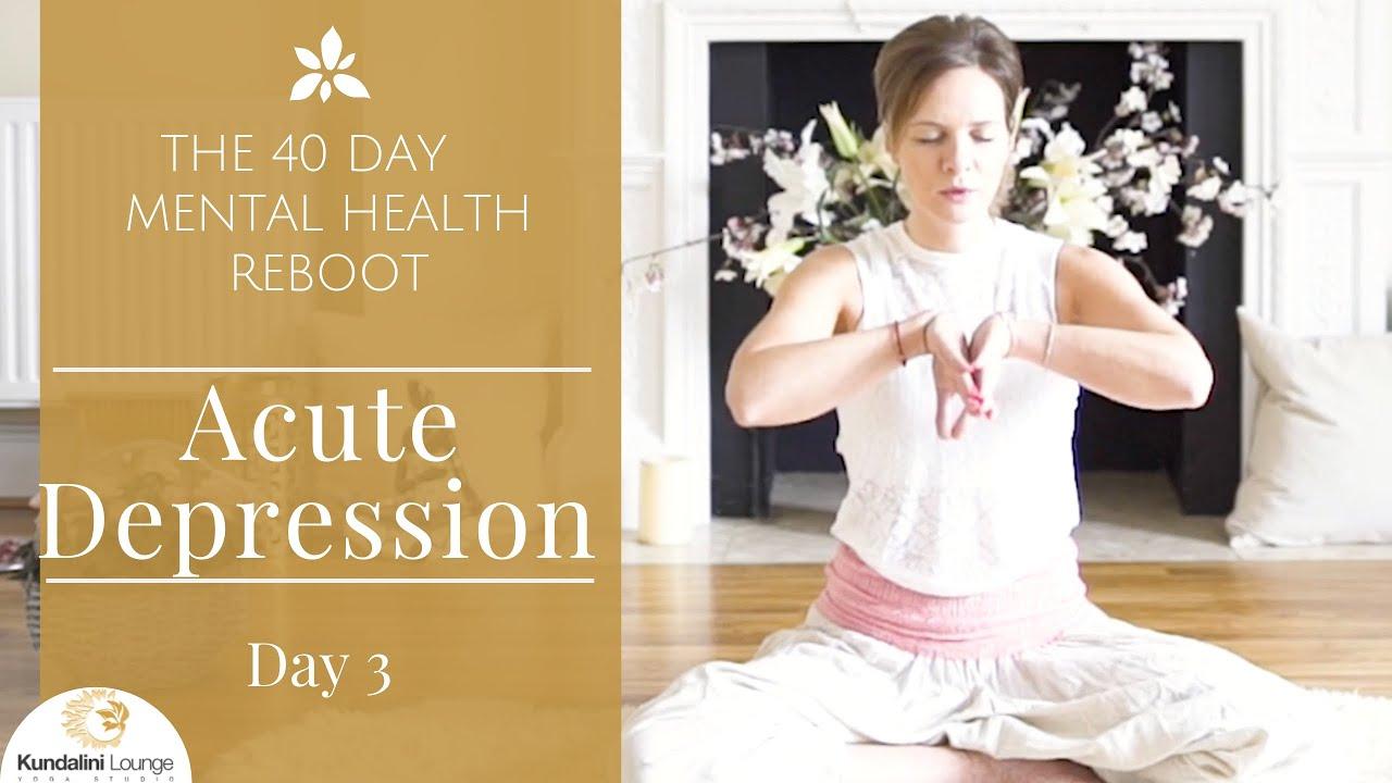 Healing Acute Depression Yoga For Mental Health Day 3 With Mariya Gancheva Youtube