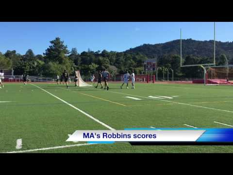 Marin Academy boys lacrosse team tops Bishop O'Dowd to advance to section semifinals
