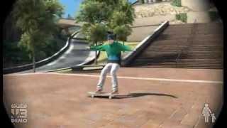 Skate 3 . 50 Stairs 360 Flip Best Video