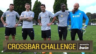 bwin CROSSBAR CHALLENGE with Inter | Icardi, Karamoh, Eder, Santon and Berni