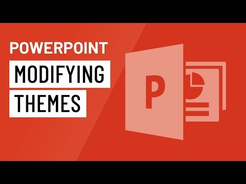 PowerPoint 2016: Modifying Themes