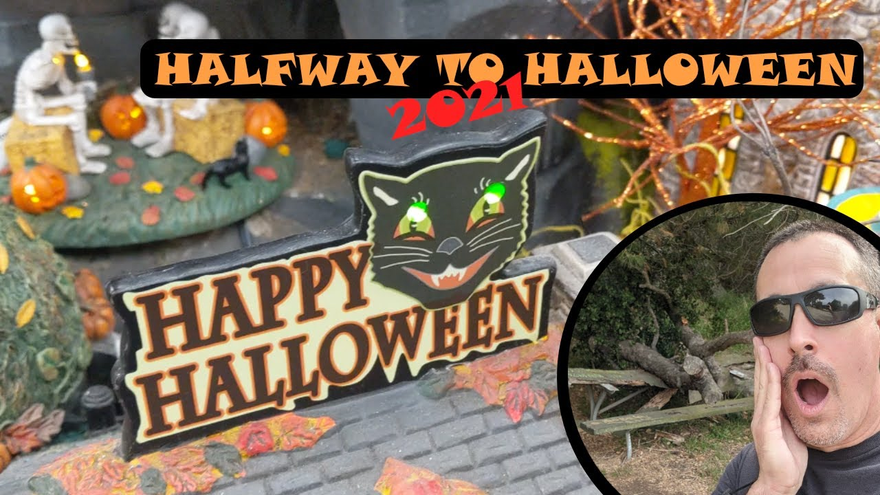 Halfway to Halloween 2021 - SCARY PLACES and a HAUNTED HIKE