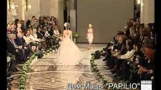 Белорусские свадебные платья Papilio 2011 показ коллекции
