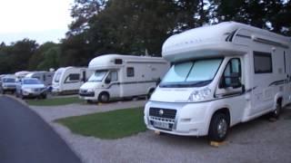 英國Braithwaite Fold Camping And Caravanning Club清晨巡禮