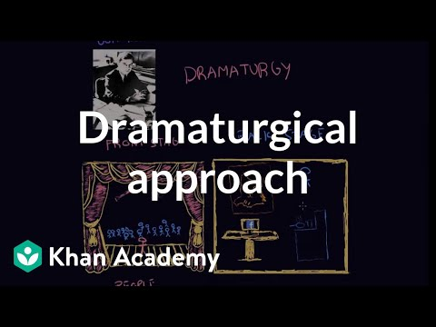 Dramaturgical Approach | Individuals And Society | MCAT | Khan Academy