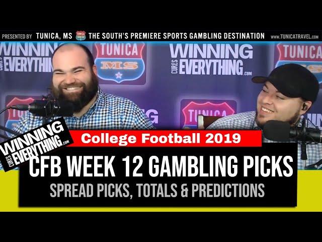WCE: College Football Gambling Picks Week 12 (Against the Spread)