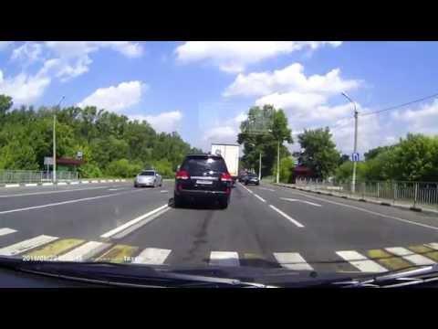 В Орехово-Зуево Дебил за рулем