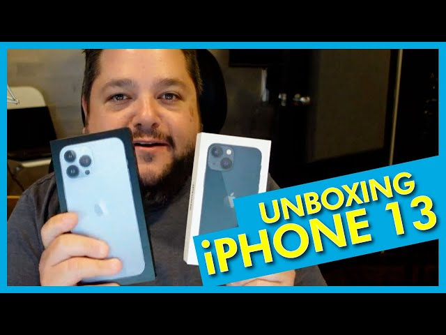 Unobxing the iPhone 13 Mini and iPhone 13 Pro Max +An Anker Bonus