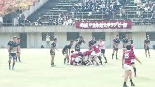 京都産業大学 対 立命館大学 4.