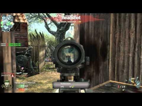 CoD - Black Ops Sniper ACOG action (test)