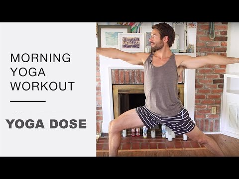 Morning Yoga Workout  Better Than The Gym Strength Balance and Flexibility