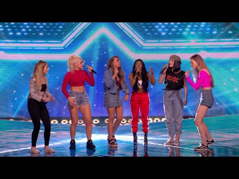 Hey mama//X factor UK 2017//ASH joined the new girl group