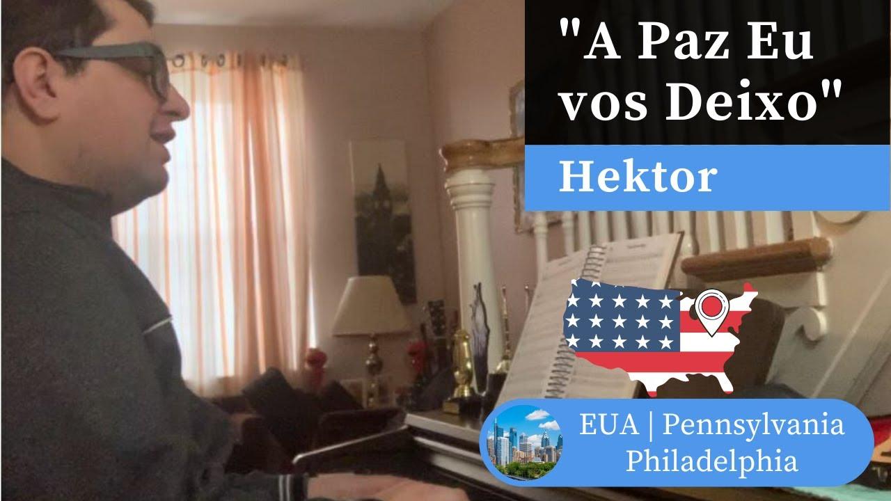 A Paz Eu Vos Deixo Hino 375 H5 Ccb Piano E Canto Hektor