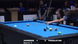 Taylor and Tristan Hansen Run Out Against Alex Pagulayan