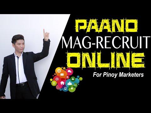 Paano Ba Ang Tamang Pag-Rerecruit Online? (Network Marketer/ Affiliate Marketer)
